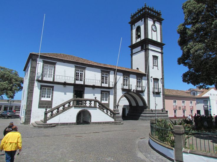 Town Hall building - Sao Miguel - Azores, Portugal