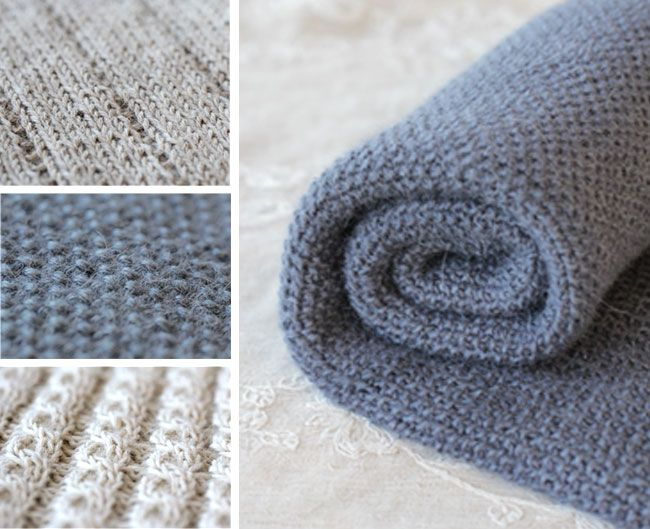 baby blanket, Norwegian paid pattern, three single stitch blankets, same yarn, different colours, set of three, knit