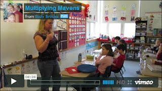 Teacher Suzy Brooks shows how she conducts daily multiplication drills in her classroom - the whole process takes just 5 to 10 minutes a day and results in math fact mastery!