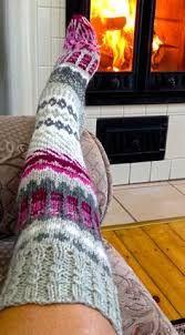 Slikovni rezultat za knit socks pattern over the knee