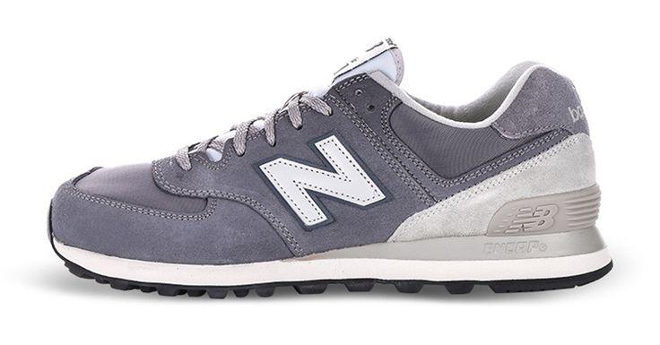 Soldes New Balance 574 gris Homme chaussures france boutique