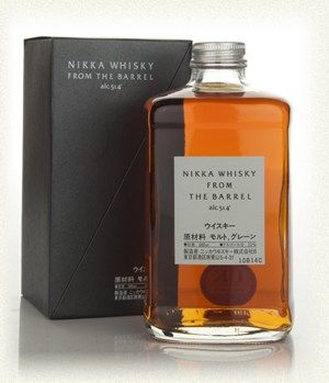 Nikka Whisky From The Barrel Whisky from the Barrel is one of the greatest value for money whiskies in the world. An incredible dram from Nikka, so much power! We can't recommend this enough. (£28.59)