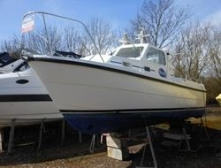 For Sale (2000) Orkney Boats - Day Angler 24 Pilothouse £36,995 #boats #solent #boating #portsmouth