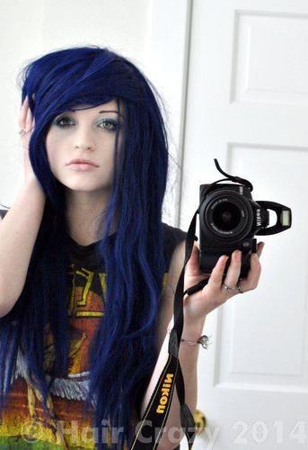 Help? Navy Blue Hair... - Forums - HairCrazy.com