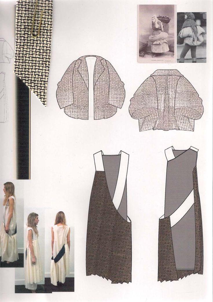 Fashion Sketchbook - fashion design drawings & research; fashion portfolio // Sophie Tolhurst