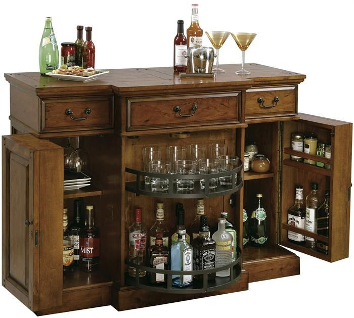 52 best Liquor cabinets and carts images on Pinterest | Bar ...
