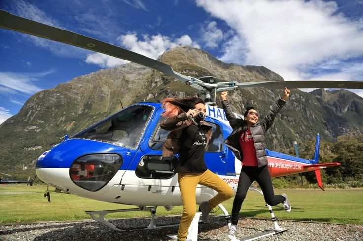 Recommended activity in New Zealand : Helicopter ride in Milford Sound!  #helicopter #ride #milfordsound #liburan #traveling #tips #luxurynz #newzealand