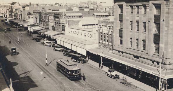 Moorabool St. 1920's