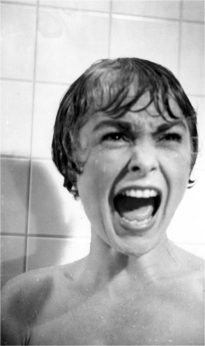 """""""Psycho"""" by Alfred Hitchcock: one of the scariest movies ever..changed the way people got in the shower (always look behind the curtin first.)"""