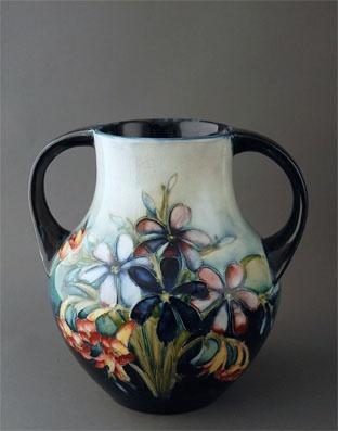Handpainted pottery