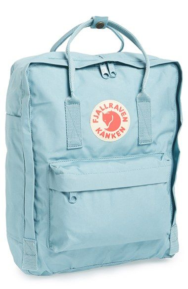 Free shipping and returns on Fjällräven 'Kånken' Water Resistant Backpack at Nordstrom.com. Scandinavian design has long been known for offering practical, functional pieces that are beautiful to behold but that are meant to be used. Originally designed in the '70s for Swedish schoolchildren, a now-iconic backpack is crafted from durable, water-resistant Vinylon F™ fabric and features a stylish, contemporary silhouette.