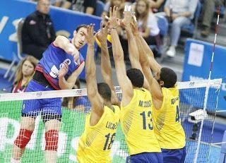 Blog Esportivo do Suíço:  Brasil é derrubado de novo pela Sérvia e fica com o vice na Liga Mundial