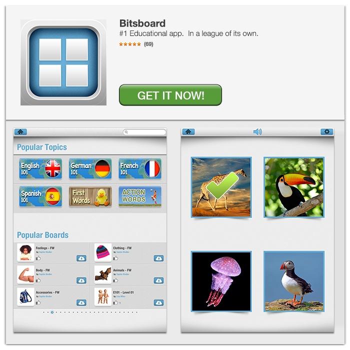 Bitsboard er genial til sprogindlæring og gratis. Den bygger på lad os dele princippet, så nogle lægger kataloger ind. Man kan øve alt muligt med true/false, quiz, stav etc. Der er mange kataloger til alle sprogfagene. PRØV DET