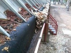 Poor Quality Gutter Mesh. Vote below for your input on this type of gutter protection system.