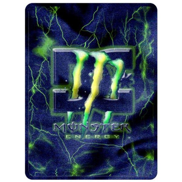 """Monster Energy New Blanket 58"""" x 80""""  (Large) code 1106"""