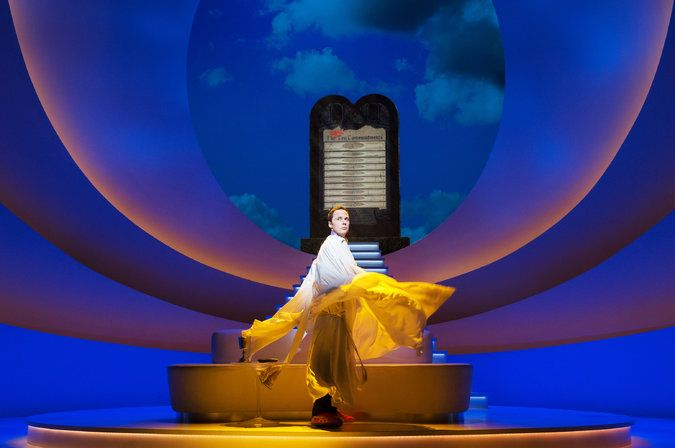 An Act of God. Scenic design by Scott Pask.
