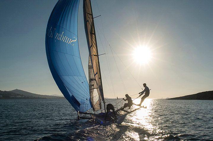 Cyclades Paros, Greece  sailing