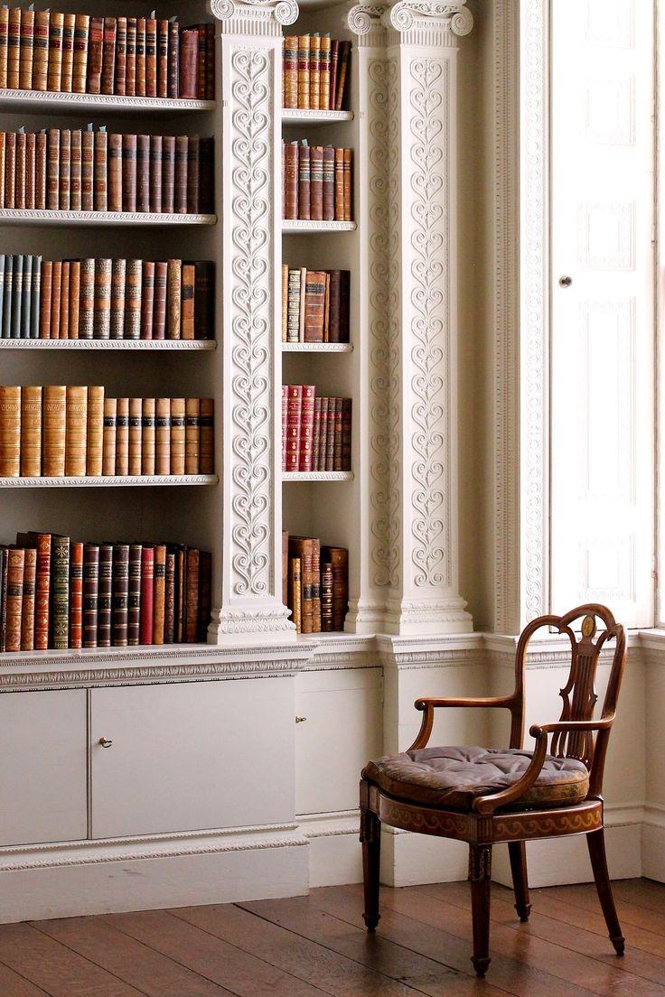 Add a Bookshelf Brooch for a simple elegant touch.
