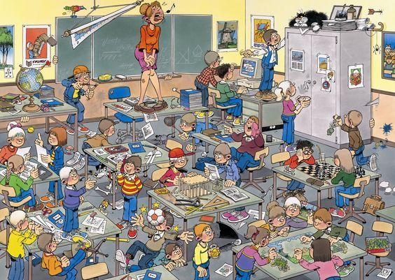 Praatplaat muis in de klas: