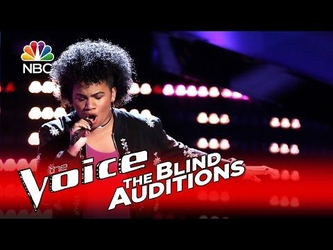 "The Voice 2016 Knockout - Courtney Harrell: ""River Deep, Mountain High"" - YouTube"