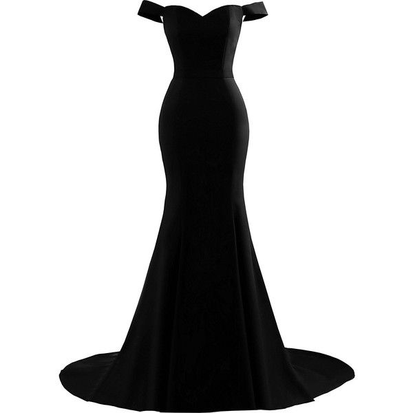 Yinyyinhs Women's Off the Shoulder Mermaid Evening Gowns Sweetheart... ❤ liked on Polyvore featuring dresses, gowns, formal ball gowns, long gown, long formal evening gowns, off the shoulder gown and long evening dresses