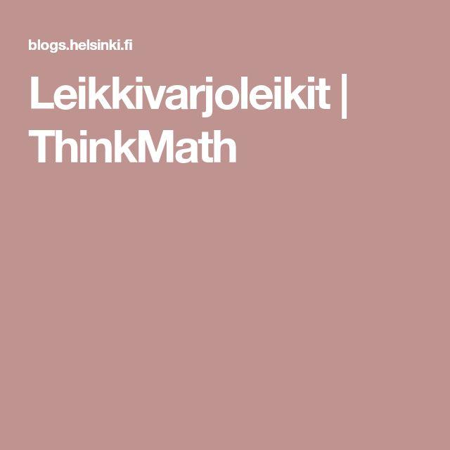Leikkivarjoleikit   ThinkMath