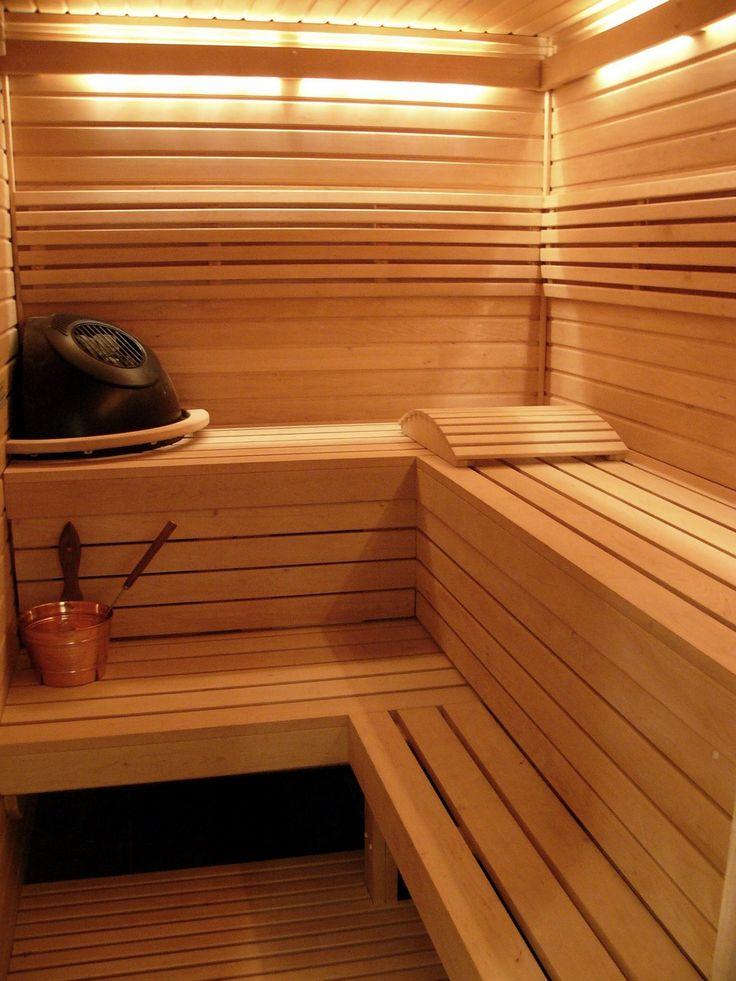 lighting ideas saunas - Sauna Design Ideas
