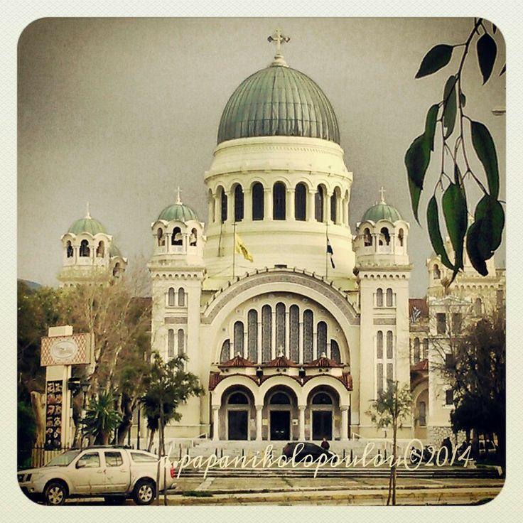 Saint Andrew Greek orthodox church, Patras