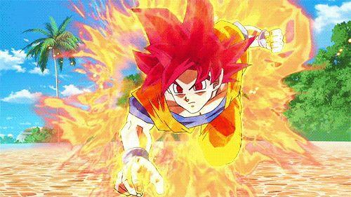 SSJG Goku vs Beerus The Destroyer