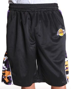 UNK ST | Los Angeles Lakers Warrior Black Shorts. Get it at DrJays.com