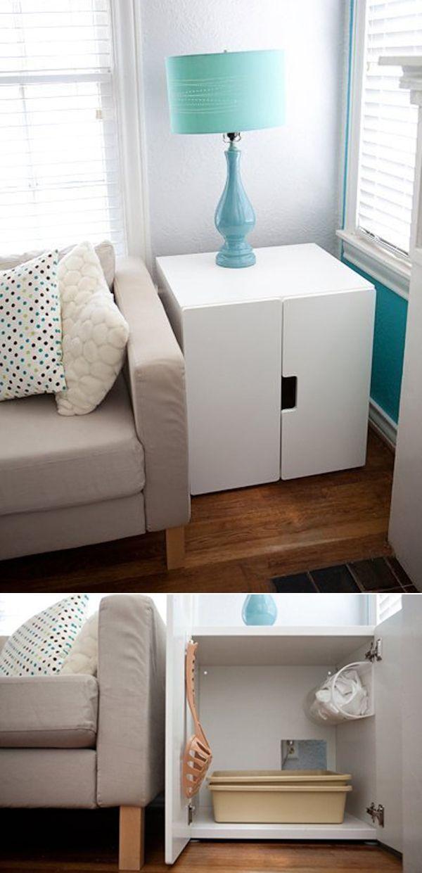 Best 25+ Hidden litter boxes ideas on Pinterest | Diy litter box ...