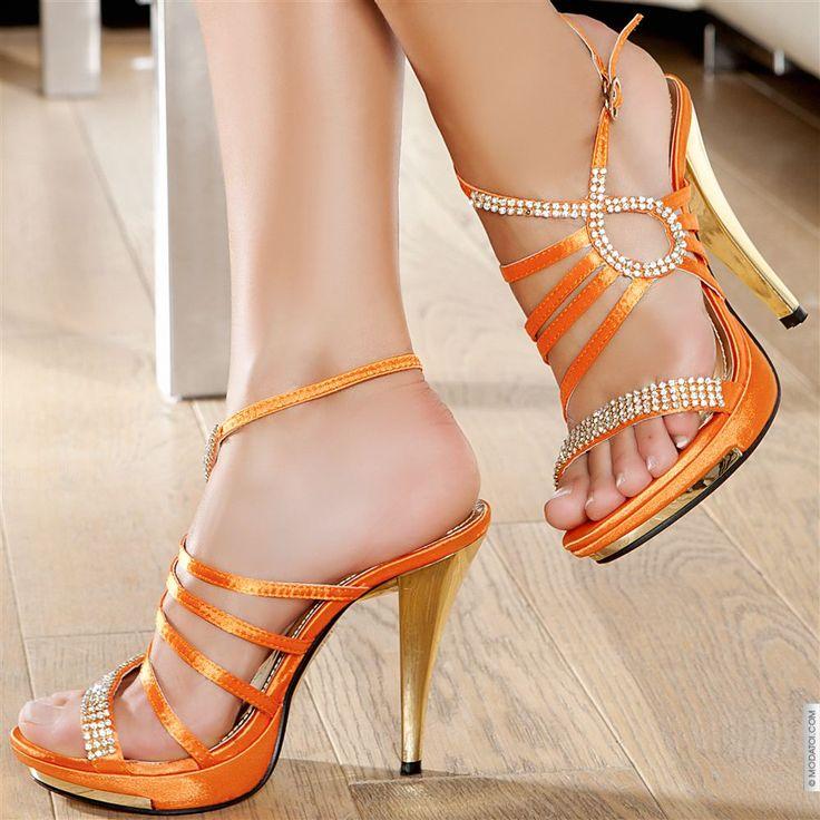 17 best images about shoes i love orange on pinterest shoes heels beautiful shoes and platform. Black Bedroom Furniture Sets. Home Design Ideas