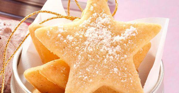 Kindheitserinnerungen: Butterplätzchen sind ein absolutes Muss in der Adventszeit. Mit zartem Butter- und Vanillearoma erinnern sie ein bisschen a ...