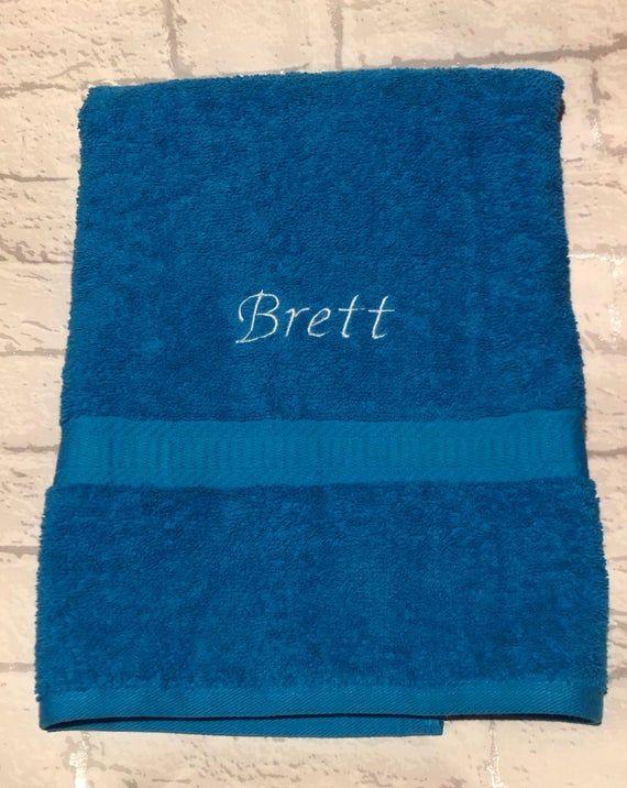 Personalised Bath Towel Embroidered Towel Towel Set Swimming
