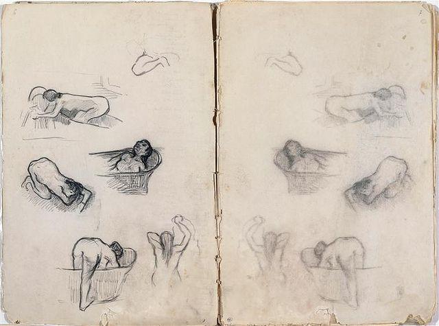From the sketchbook of Edgar Degas