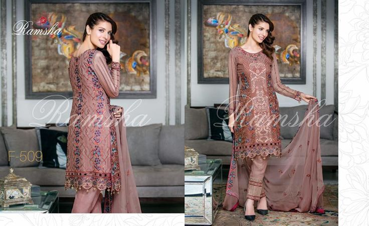 Buy Online Ramsha Zari Collection 2017 Vol-5 | PK Vogue