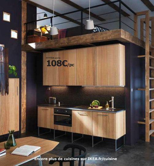 Pour sa finition haut de gamme, Ikea opte pour une finition bois brut du plus bel effet - Cuisine Ikea Metod : le meilleur du nouveau catalogue - CôtéMaison.fr