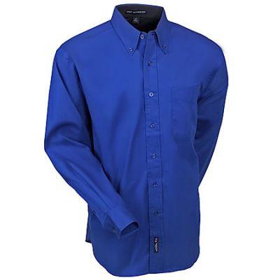 Port Authority Men's Royal Blue S608 RYL Cotton Blend Woven Shirt