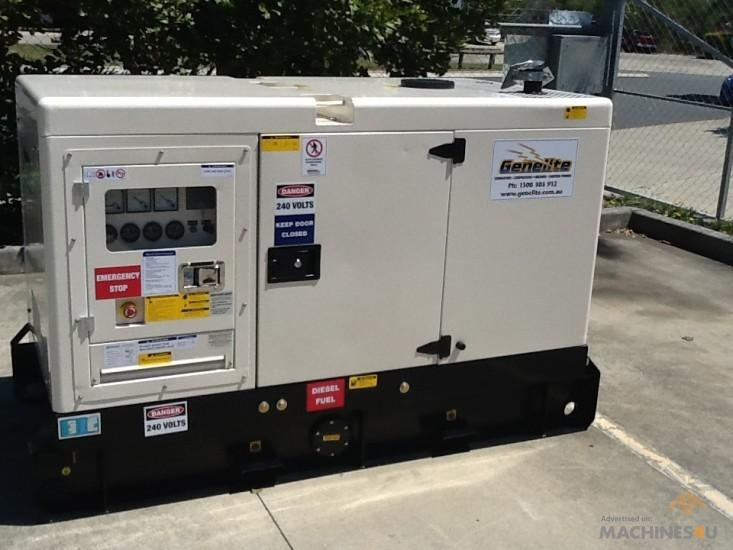 New Commercial Generator for sale - http://www.machines4u.com.au/view/advert/Kubota-GK10S/60263/