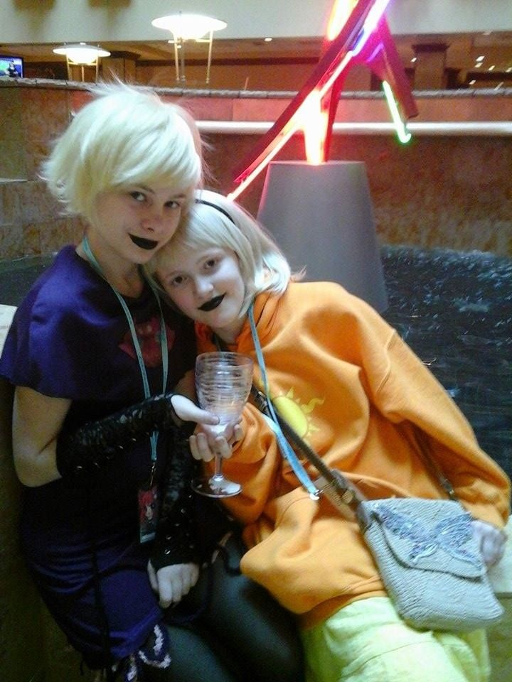 Roxy (me) and Rose (friend) at Ichibancon 2015