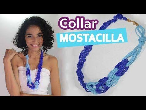 DIY | Collar Nudo Mostacilla |Necklace | Bisutería | ACCESORIOS MARSA - YouTube