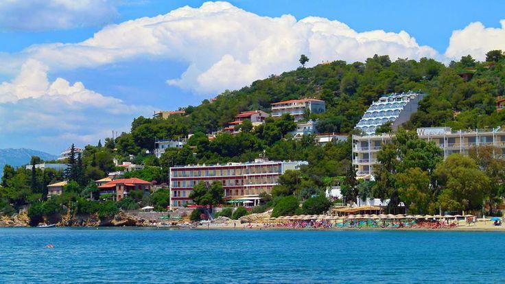 Askeli beach - View of Goldenview Beach Hotel www.goldenview.gr