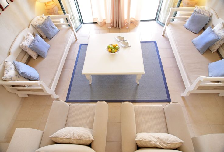 The Villa Living Room at Village Heights.