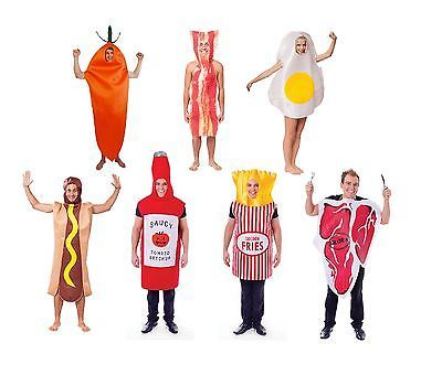 Food fun #fancy dress #costume bacon/friedegg/hotdog/carrot/steak #adult one size,  View more on the LINK: 	http://www.zeppy.io/product/gb/2/310703057110/