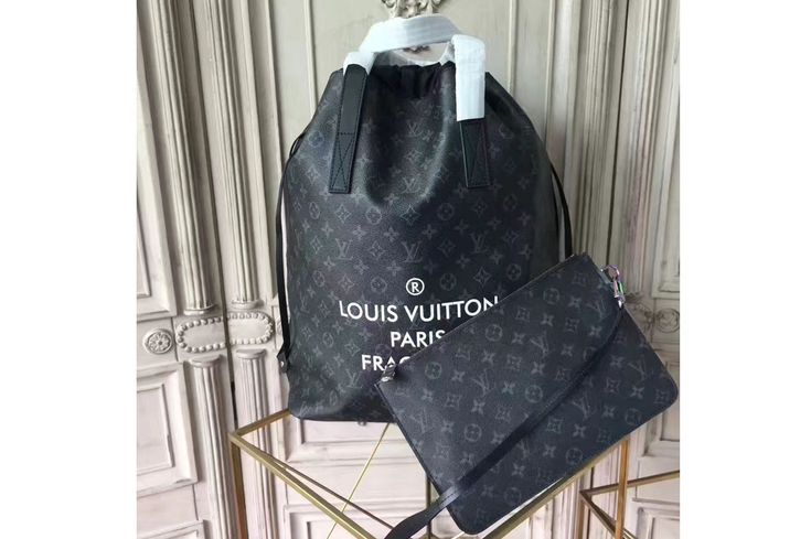 Louis Vuitton Monogram Eclipse Canvas Nano Bag M43418