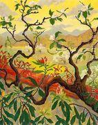 Japanese Style Landscape  by Paul-Elie Ranson