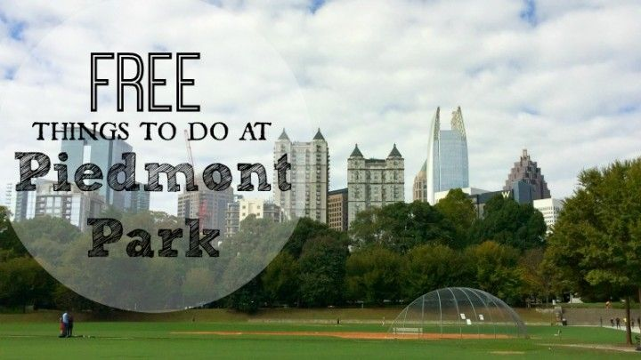 From hiking to playgrounds, scavenger hunts to a farmers market, there is a TON of fun for families in this Midtown green. Here are 13 FREE things to do in Atlanta at Piedmont Park that are perfect for the whole family!