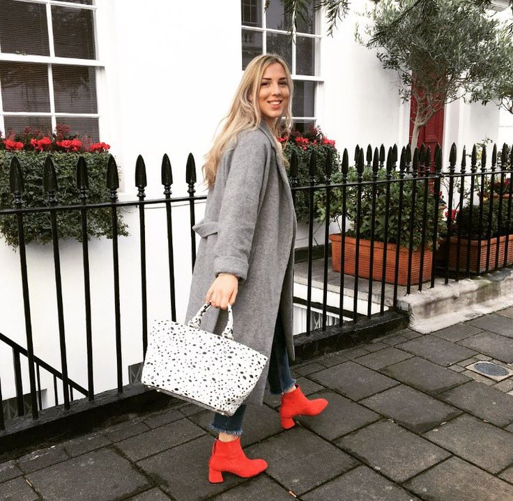 Trending: Red Ankle Boots