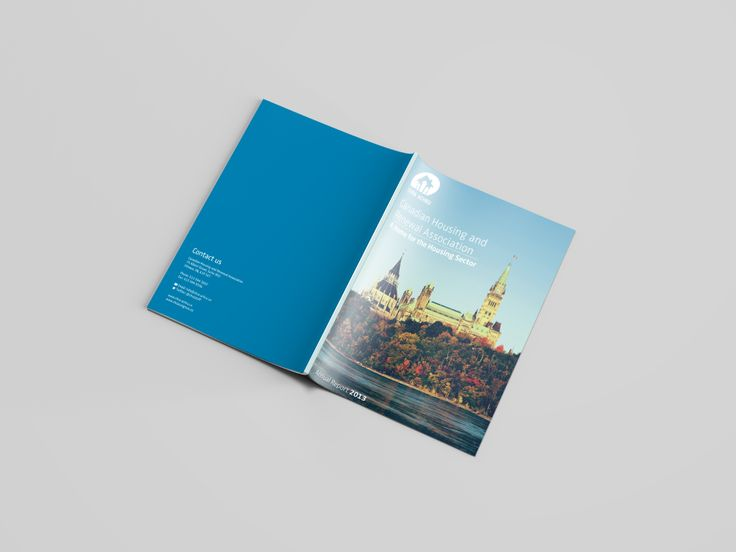 Annual report front & back cover