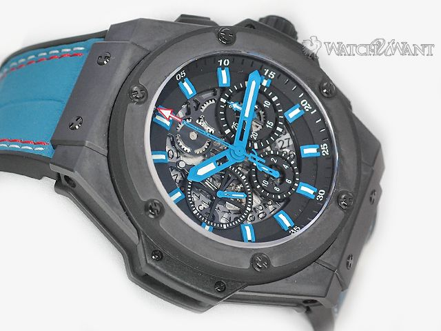 Luxury Hublot Big Bang King Power Chronograph - Beverly Hills Boutique Special Edition Only 50 Pieces- Ref 710.CI.1112.GR.BHB11 - Boxes/Booklets & Lightly Worn Condition - Boxes: , Papers: , Age: 2017. Available for immediate delivery. Call us today: 954-289-0823
